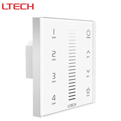LTECH Europe Waterproof Dimmer Touch Panel Controller EX5 for Single Color Strip