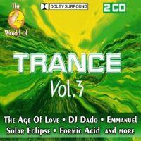 World of Trance 03 (1996, #zyx11047) Age of Love, DJ Dado, Karma, Gravi.. [2 CD]