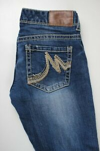 Maurices-Original-Bootcut-Distressed-Womens-Jeans-Sz-0
