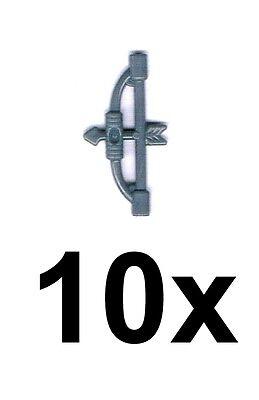 Ehrlichkeit Lego 10x Pfeil Und Bogen Dunkelgrau Dark Bluish Gray Bow With Arrow Neu Bögen Mit Traditionellen Methoden Lego Bau- & Konstruktionsspielzeug