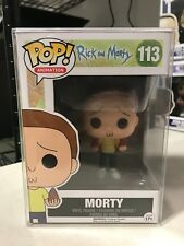 Morty Smith Funko Pop Rick e Morty Vinile Figura Portachiavi