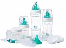 The First Years Breastflow Bottle Starter Gift Set Baby New Born Nipples Brush
