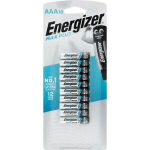 Energizer Max Plus AAA Battery 10 pack