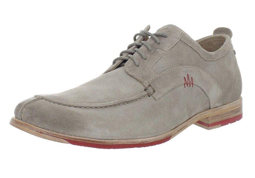 150 Mens Rockport Suede Parker Hill Moc shoes Size 12 Excellent Condition