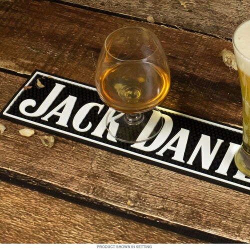 Drip Jack Daniels Old No Tennessee Whiskey 7 Bar Mat Game Room Bar