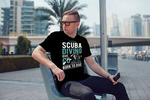 Image Is Loading SCUBA DIVING COOL MEN 039 S T SHIRT TEE