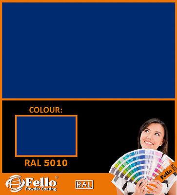 Pulverlack Enzianblau Ral 5010 5kg Beschichtungspulver Pulverbeschichtung