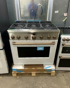 Cuisinière 36'' à convection avec HOTTE GRATUITE!!, Gaz naturel, 6 brûleurs, Blanc / Ouvert ! Longueuil / South Shore Greater Montréal Preview