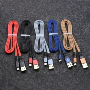 5-un-Usb-C-TIPO-C-Cable-Cable-de-carga-rapida-para-Samsung-Galaxy-S10-S9-S8-9-8-Note