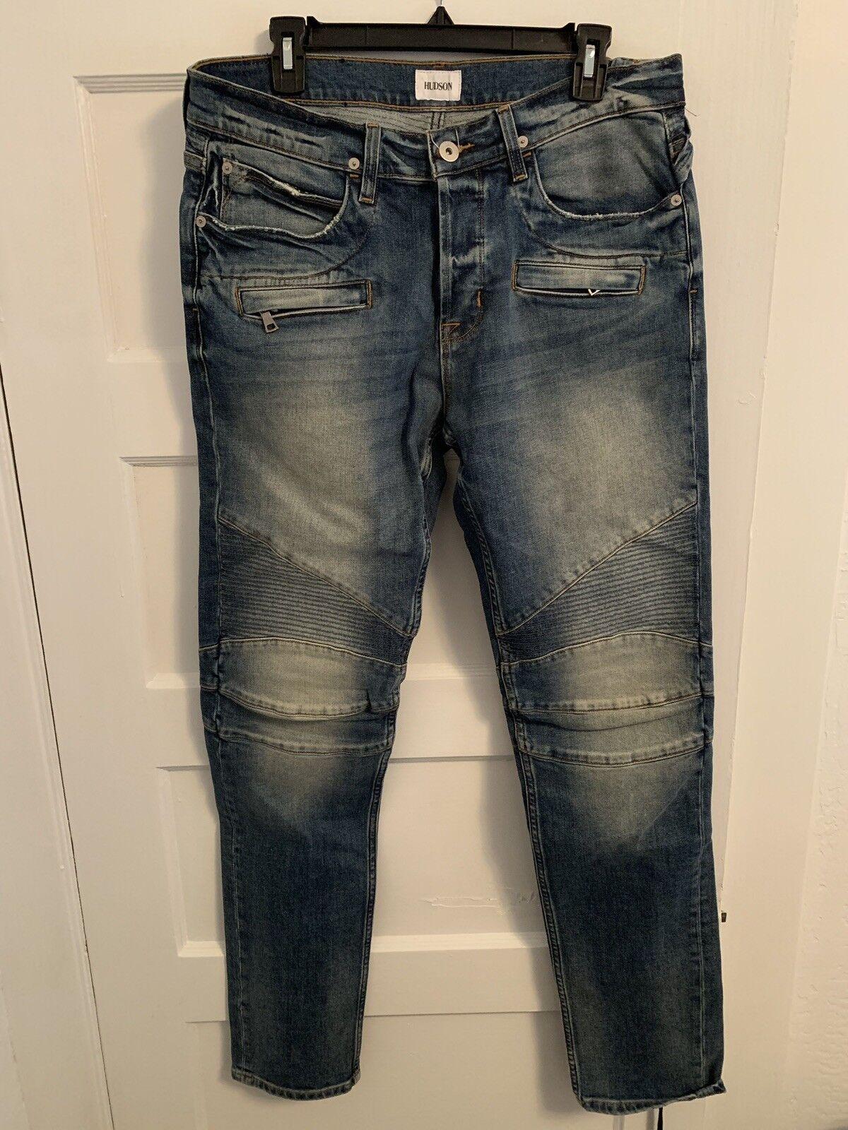 Hudson Jeans Mens The Blinder Biker Jean