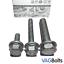 VW-Audi-Lower-Gearbox-Transmission-Dogbone-Mount-Bolt-Kit-Golf-Mk5-Mk6-A3-EOS thumbnail 1