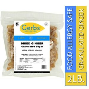 Dried-Ginger-2-LBS-Food-Allergy-Safe-NON-GMO-amp-Unsulfured-by-Gerbs