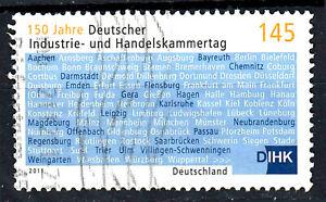 2865-Wellenstempel-gestempelt-BRD-Bund-Deutschland-Jahrgang-2011