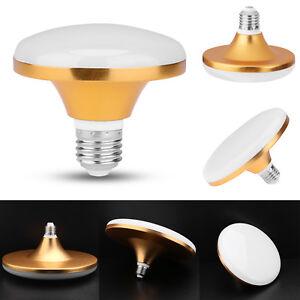 12/15/20/ 30/40/50/ 60W E27 LED Lampe Energiesparende Flach UFO Licht Birnen