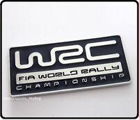 WRC World Rally Badge Emblem Decal Subaru STI WRX Turbo Car Impreza blue 99b