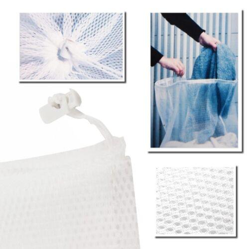 2 x grand sac à linge linge filet 61 x 91 cm pour le linge à 3 kg de linge sac