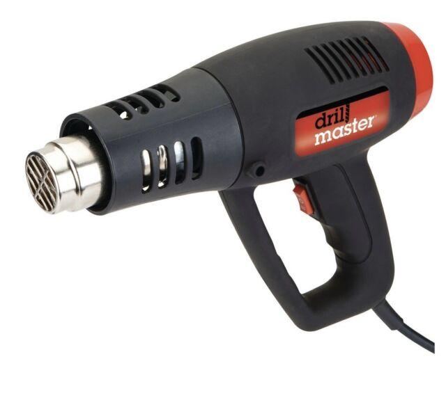Drill Master 1500 Watt High  U0026 Low Dual Temperature Heat