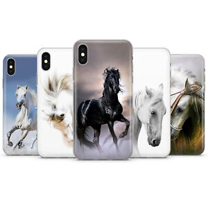 Caballo-Caballo-Hermoso-telefono-caso-tapa-se-ajusta-para-iPhone-5-6-7-8-11-XR-XS-Max-X