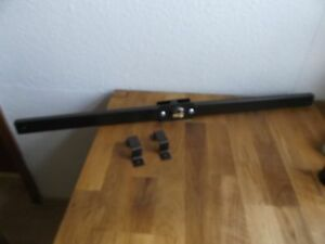 panzerriegel t rsicherung innen au en abschlie bar bronziert 90cm ebay. Black Bedroom Furniture Sets. Home Design Ideas