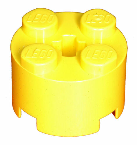 Missing Lego Brick 3941 Yellow x 5 Brick 2 x 2 Round
