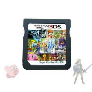 208-in-1-Game-Games-Cartridge-Multicart-For-Nintendo-Ds-Nds-Ndsl-2DS-3DS