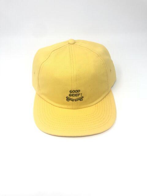 VANS Shoes X Peanuts Good Grief Broken Skateboard Hat Baseball Cap ... 80a88b99348