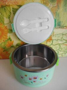 Thermobehälter mit Löffel Gabel Isolierbehälter Speisewärmer 2,2 L