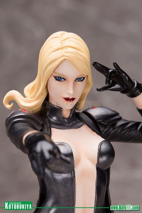 Marvel - comics  x - men  emma frost artfx + statue adi granov kotobukiya japan