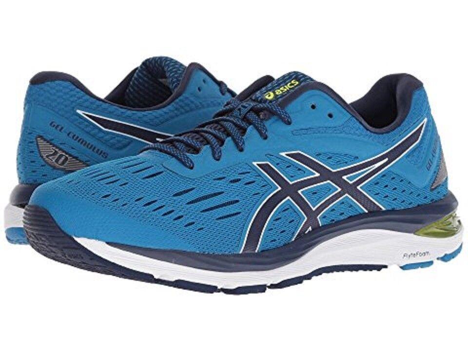 ASICS 1011A008.2018 GEL-Cumulus® 20 Mn's (M) Race-Bleu Mesh Running Chaussures