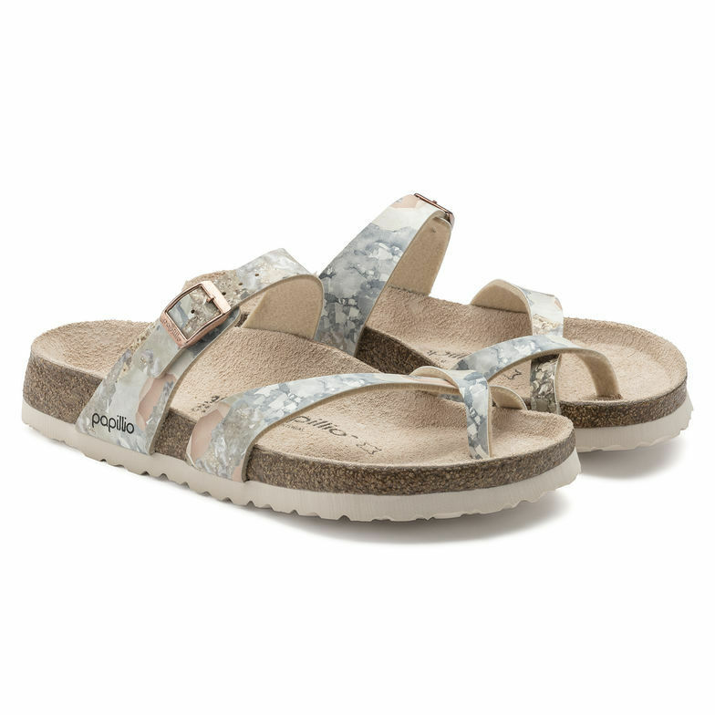 Papillio by Birkenstock Tabora Crystal Rose Größe 35-43 Fußbett normal
