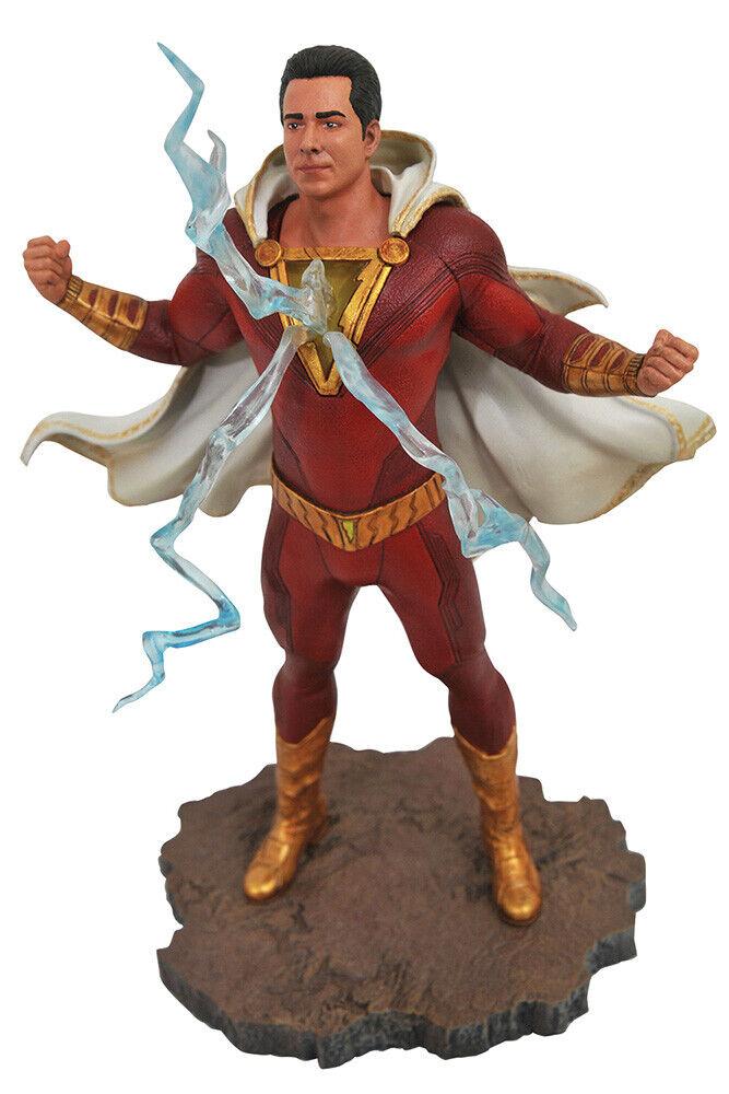 Diamond Select giocattoli Shazam  DC Movie Gtuttiery Shazam PVC Statua 23 cm