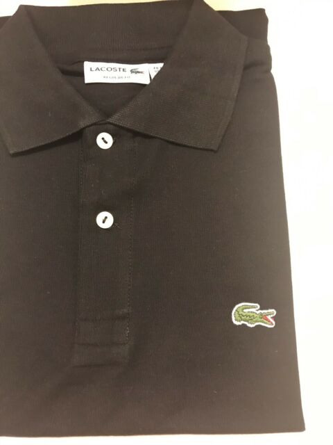 f2dd2e9c0b5aa Details about NEW Lacoste Men's Polo Shirt in Bordeaux Size 6 (Large)  Regular Fit