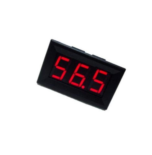 5PCS Red LED Panel Meter Mini Digital Voltmeter DC 0V To 99.9V NEW