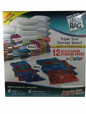 NEW Space Bag 12 color storage spacebag set - Free shipping!