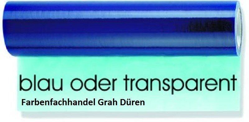 8 Rollen Glasschutzfolie Glasschutzfolie Glasschutzfolie blau/trans., selbstklebend, 50 cm x 100 m, 50 my stark 8c15a6