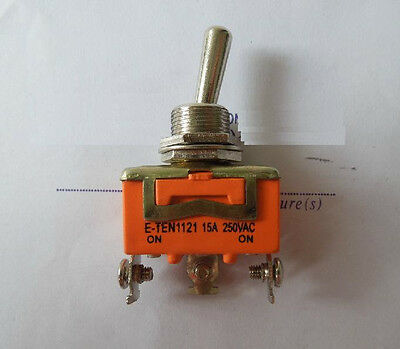 3-Pin Toggle DPDT ON-OFF-ON Switch 15A 250V