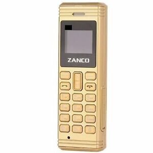 zanco gold fly worlds smallest phone with voice changer bluetooth new free p p. Black Bedroom Furniture Sets. Home Design Ideas