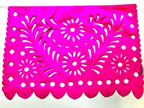 LARGE PAPER Banner Papel Picado Multicolor 17Ft Long Fiesta Party String