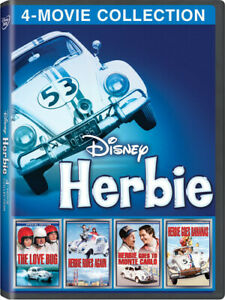 Herbie Complete 4 Movie Collection DVD - Brand NEW Fast Shipping, 1 Day Handling