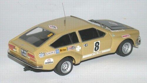 Kit Alfa Romeo Alfetta GT Gr.2  8 Rally 4 Regioni 1975 - Tron Models kit 1 43