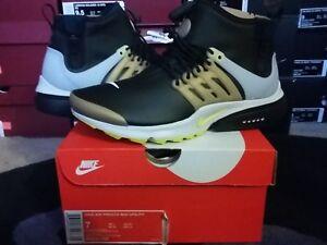 uk availability 4e104 1054e Image is loading Nike-Air-Presto-Mid-Utility-Sneaker-Boots-Winter-