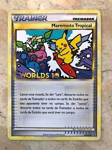 Pokemon-2010-World-Championships-Stamped-Portuguese-HGSS18-NM-Brand-New
