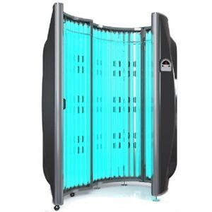 Wolff Solar Storm 36st Stand Up Tanning Booth Ebay