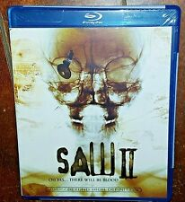 Saw II: Uncut Edition (Blu-ray Disc, 2007, Canadian) Free Shipping!