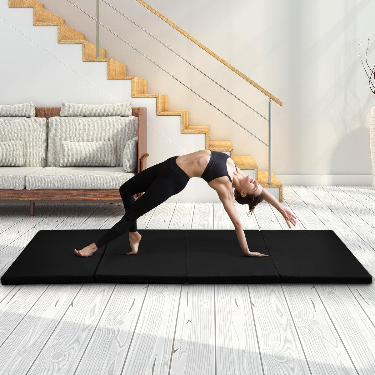 Weichbodenmatte Fitnessmatte Turnmatte Gymnastikmatte Yogamatte 240x120x5cm