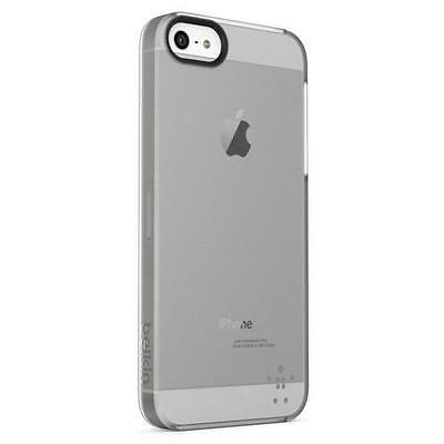 Belkin Translucent Thin Hard Shield Sheer Matte Case Cover Fits iPhone 5 5S Clea