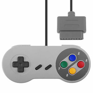 Game-Controller-Gamepad-Joy-For-SNES-Super-NS-Console-Original-Style-KK
