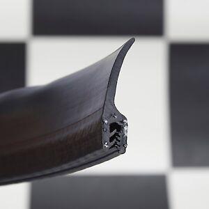Large Exposed Fin Car Boot Seal Rubber Edge Trim Van