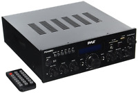 Pyle Bluetooth Stereo Amplifier Receiver [compact Home Theater Digital Audio Sys