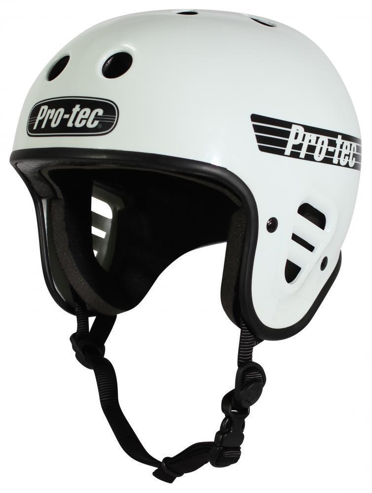 Pro-Tec Kompletter Schnitt Helm – Glänzend Weiß